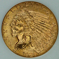 1925-D $2.50 Gold Indian NGC MS65
