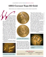 Article: 1885 $5 Gold Counterfeit