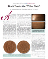 Article: 1859 Indian Head 1 Cent Counterfeit