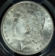 1882-CC Morgan $1 PCGS MS65