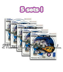 5 sets of Electric Bass Guitar strings LT round wound