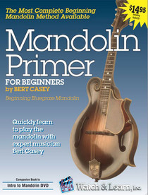Mandolin Primer Book w CD Beginning Instruction Music Lessons Watch and Learn