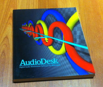 Audiodesk Manual Book V1 256 Pages MOTU Digital Performer