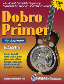 The Dobro Lap Steel Guitar Primer Instruction Book + CD Watch and Learn