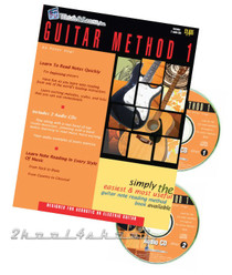 Jam System Guitar Method 1 - 2 CDs Lessons Instruction Watch and Learn