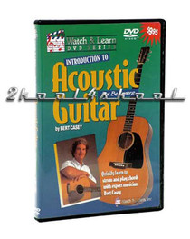 Beginner Intro to Acoustic Guitar Video Bert Casey DVD video lessons Watch Learn