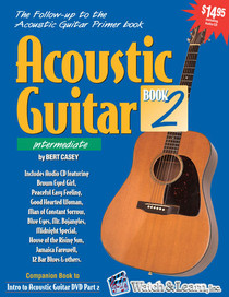 Intermediate Acoustic Guitar lesson Part 2 DVD Video learn NEW Watch and Learn