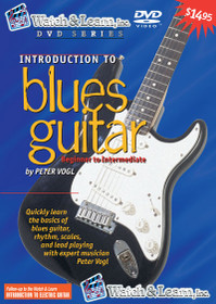 Intro to Blues Electric Guitar lessons Video DVD instructional Watch and Learn