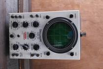Eico Oscilloscope model 460 DC wide band WORKS vintage vacuum tube scope