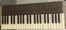 One Individual Key for Hammond Organ All notes black white L100 M100 Porta B etc