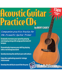 Acoustic Guitar Jam 2 CD set Practice Backing Tracks Lessons Audio Watch & Learn