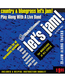 Let's Jam! CD Country Bluegrass Backing Tracks Practice Watch and Learn
