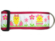 2 inch wide pink dog collar