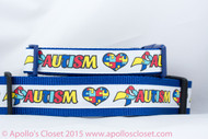 "Autism Awareness 1 or 1.5"" wide"
