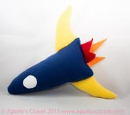 Rocket  Dog Toy