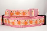 Pink Pumpkin Princess Collar