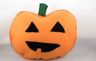 Pumpkin dog toy