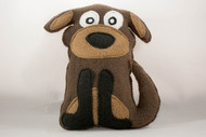 Cute stuffed dog toy
