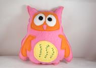 Pinkie Owl Dog Toy