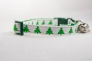 Christmas cat collar