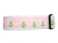 Cute pink christmas collar
