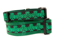 Celtic lace dog collar