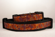 Steampunk dog collar