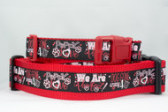 Valentine's Day Dog Collar