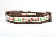 small dog rustic collar
