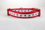 Santa Hat Dog Collar