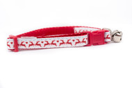 Red Reindeer Cat Collar