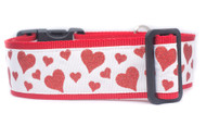 Valentines Day collar for large dogs