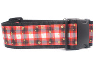 """Perfectly Plaid Dog Collar 2"""" wide"""