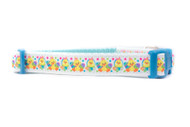 "Blue Easter Chick Dog Collar 5/8, 3/4 or 1"" wide"