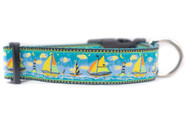 sailing dog collar