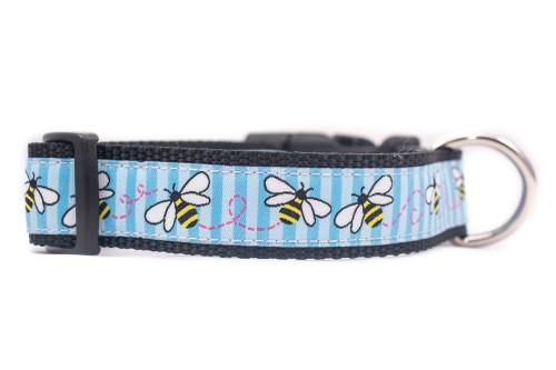 Bee dog collar