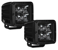 Rigid Industries D-Series Midnight Edition Optics Spot Light Pair