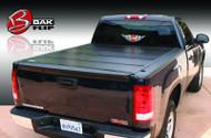 "2004-2013 Silverado/Sierra Hard Folding Tonneau Cover (5' 8"" Bed)   BAKFlip G2"