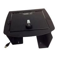 Console Safe 2007 to 2014 Chevrolet Silverado, Suburban & Tahoe GMC Yukon Sierra w/ USB Economy Model LD2011E