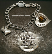 I Used To Be All Silver Bracelet