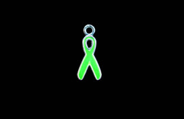 Cancer Ribbon Green