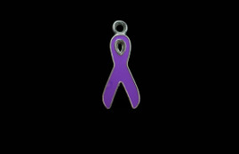 Cancer Ribbon Purple