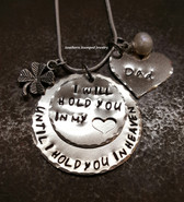 2 Layer Silver I Will Hold You Silver