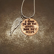 Keepsake Gifts - I used to be his angel