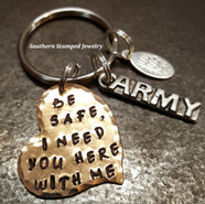 Be Safe Key Chain