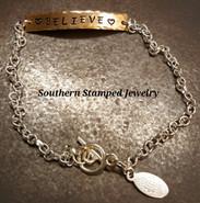 Bronze Bar Bracelet