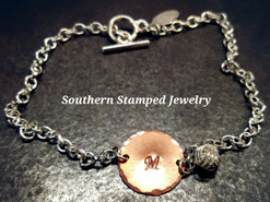 I Couldn't Tie The Knot Without You Copper Circle Bracelet/Anklet