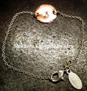 Copper Circle Dainty Bracelet/Anklet