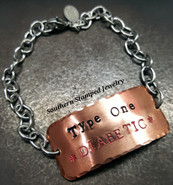 Stainless Steel,Copper  Medical Alert Bracelet