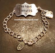 Silver Plaque Bracelet